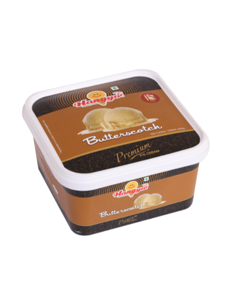 Hangyo Butterscotch Ice Cream  1000 ml Tub
