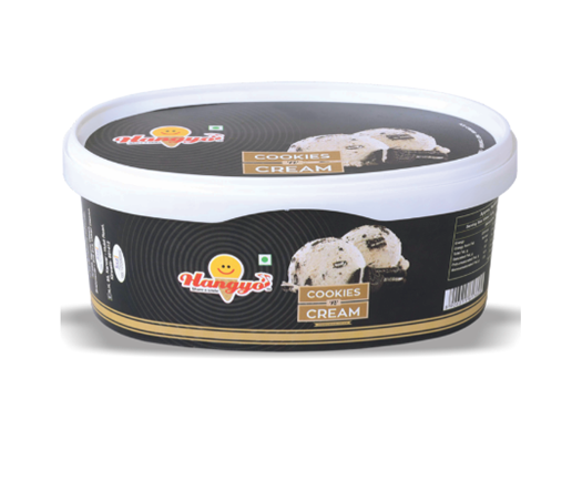 Hangyo Cookie's 'n' Cream Ice Cream  1000 ml Tub