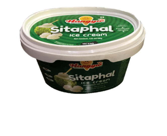 Hangyo Sitaphal Ice Cream  125 ml Tub