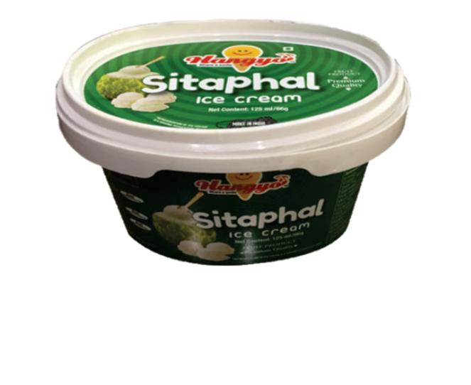 Hangyo Sitaphal Ice Cream  125 ml Tub