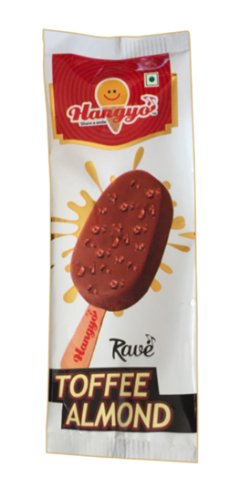 Hangyo Rave Toffee Almond  Ice Cream 50 ml