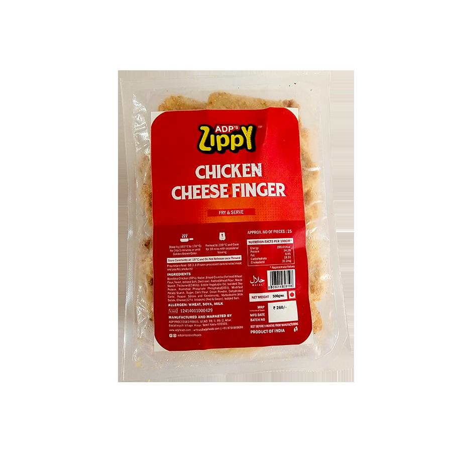 Zippy Chicken Cheese Fingers 500 g
