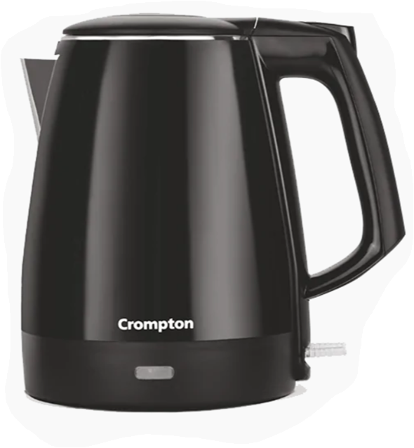 Crompton Activhot Electric Kettle 1.5 Litre