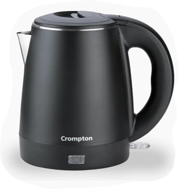 Crompton Activhot Electric Kettle 1 Litre