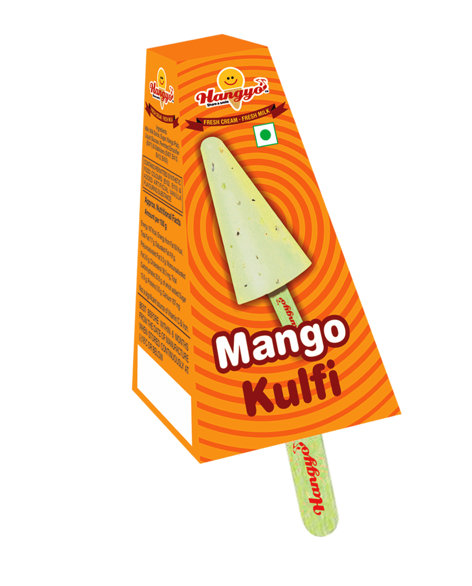 Hangyo Mango Kulfi  Ice Cream 60 ml
