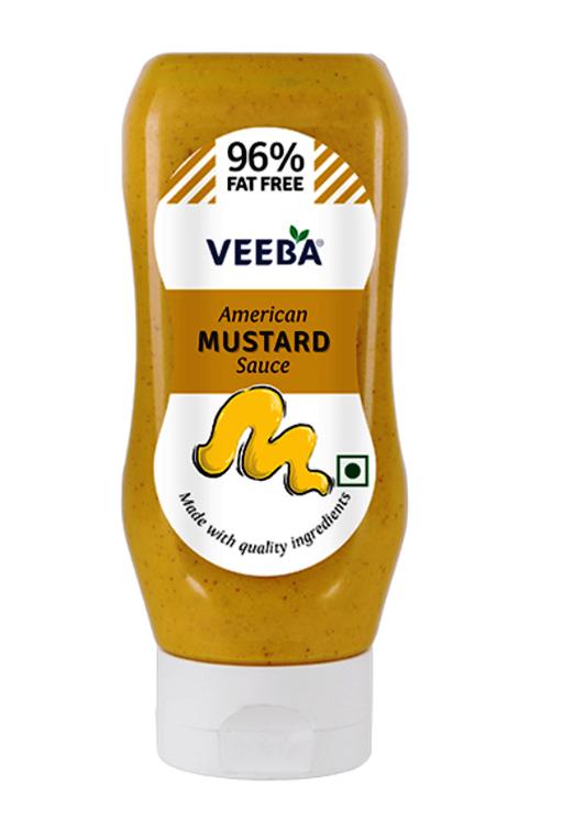 Veeba American Mustard Sauce 310g