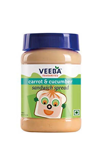 Veeba Carrot & Cucumber Sandwich Spread 250g