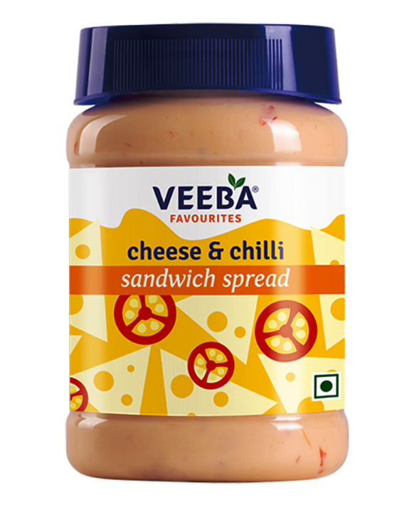 Veeba Cheese & Chilli Sandwich Spread 275g