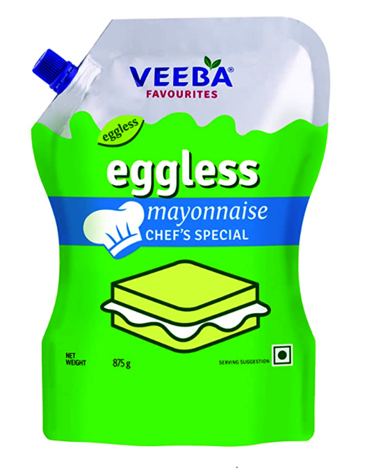 Veeba Eggless Mayonnaise 875g Pouch