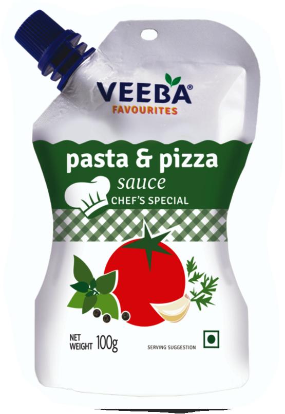 Veeba Pasta & Pizza Sauce 100g Pouch