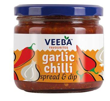 Veeba Garlic Chilli Spread & Dip  335g