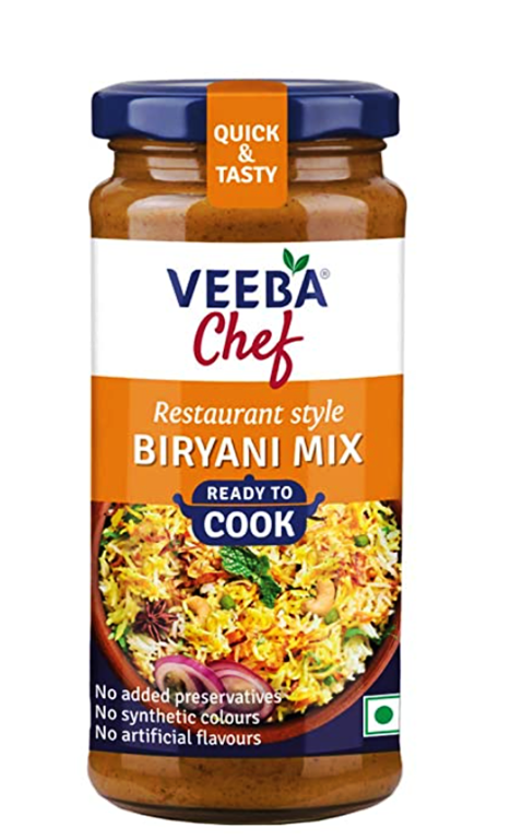 Veeba Chef Ready to Cook Biryani Mix 250g