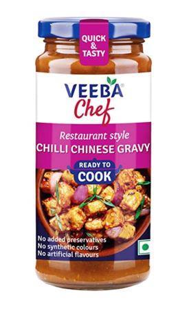 Veeba Chef Ready to Cook  - Chilli Chinese Gravy 260g