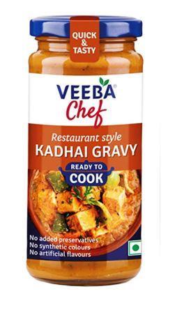Veeba Chef Ready to Cook  - Kadhai Gravy 250g