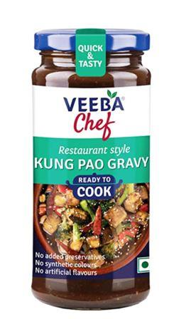 Veeba Chef Ready to Cook  - Kung Pao Gravy 250g
