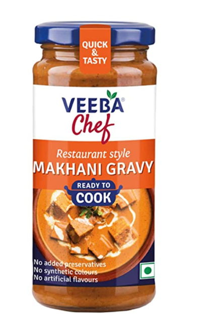 Veeba Chef Ready to Cook  - Makhani Gravy 250g