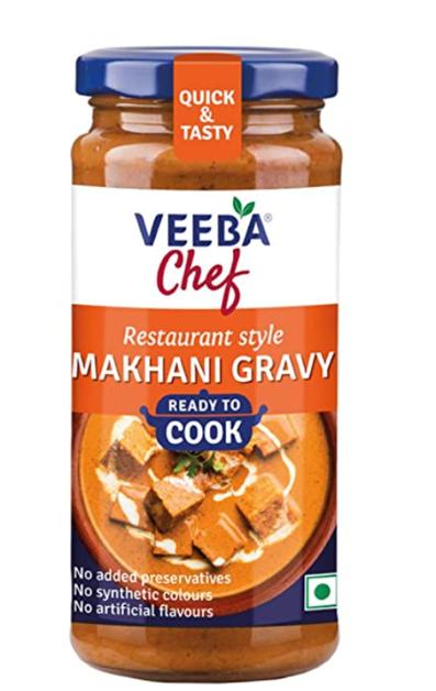 Veeba Chef Ready to Cook  - Makhani Gravy 250g