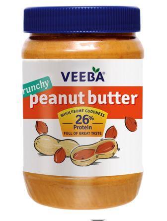 Veeba Peanut Butter - Crunchy 925 g