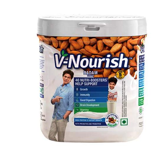 V-Nourish Badam 200 gms