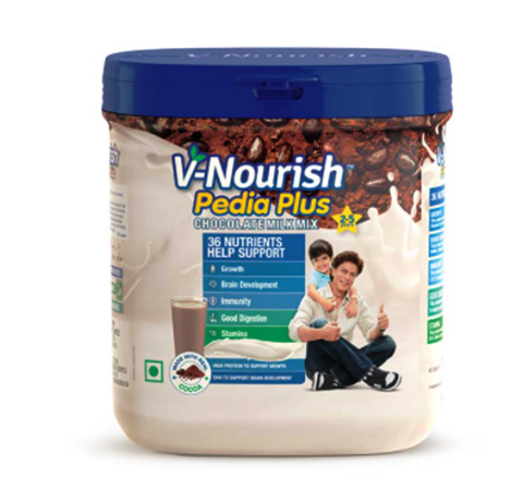 V-Nourish Pedia Plus Chocolate Milk Mix 200 gms
