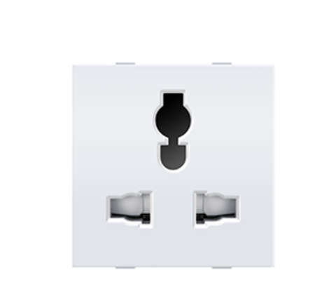 Anchor by Panasonic 6A/10A/13A, Combi Socket for all pins, 2M