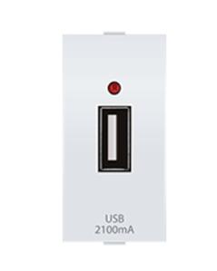 Anchor by Panasonic USB Charger, Single Port, 2.1A, 5V, 1M