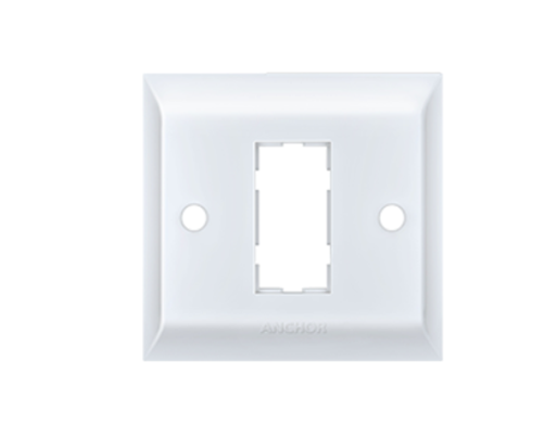 Anchor by Panasonic 1 Module, Cover Plate with Base Frame