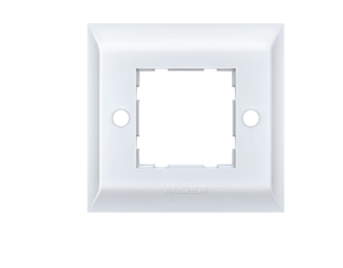 Anchor by Panasonic 2 Module, Cover Plate with Base Frame