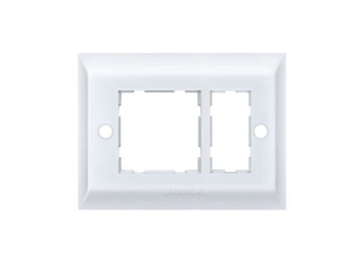 Anchor by Panasonic 3 Module, Cover Plate with Base Frame