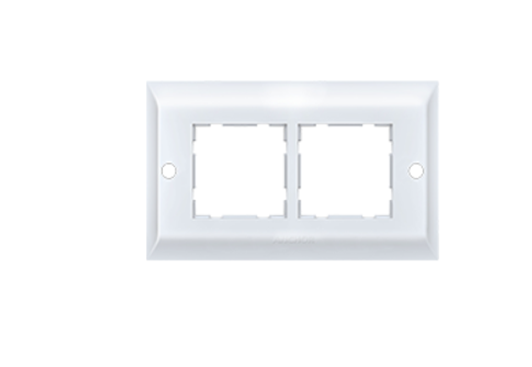 Anchor by Panasonic 4 Module, Cover Plate with Base Frame