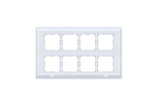 Anchor by Panasonic 16 Module, Cover Plate with Base Frame