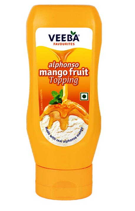Veeba Alphonso Mango Fruit Topping 380 g