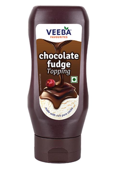 Veeba Chocolate Fudge Topping 380 g