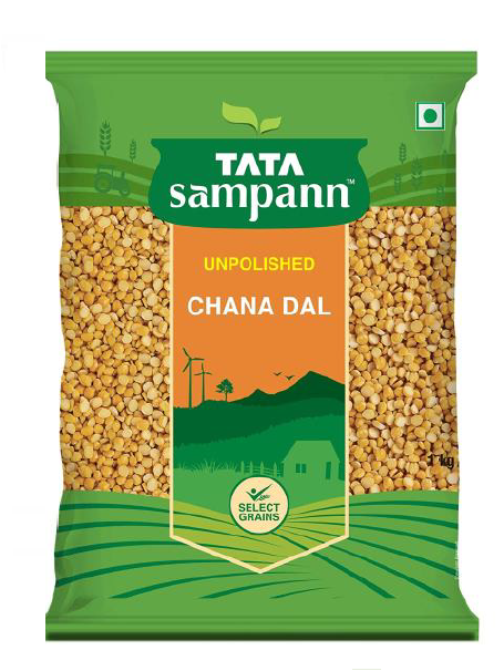 Tata Sampann Chana Dal (Unpolished) - 1 Kg