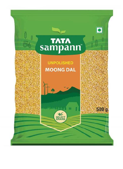 Tata Sampann Moong Dal (Unpolished) - 500 g