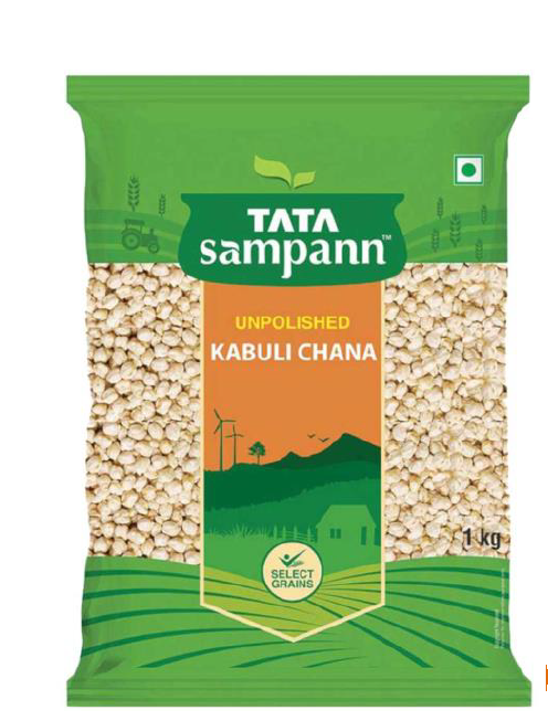 Tata Sampann Kabuli Chana (Unpolished) - 1 Kg