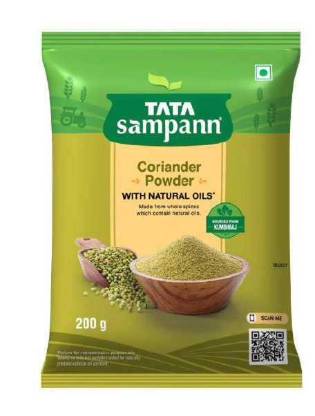 Tata Sampann Coriander Powder (With Natural Oils) - 200 g