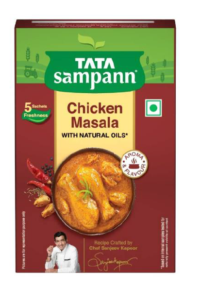 Tata Sampann Chicken Masala (With Natural Oils) - 100 g