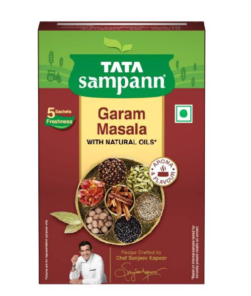 Tata Sampann Garam Masala (With Natural Oils) - 100 g
