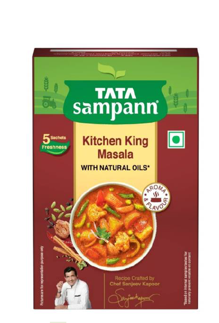 Tata Sampann Kitchen King Masala (With Natural Oils) - 100 g