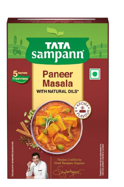 Tata Sampann Paneer Masala (With Natural Oils) - 100 g