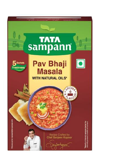 Tata Sampann Pav Bhaji Masala (With Natural Oils) - 100 g