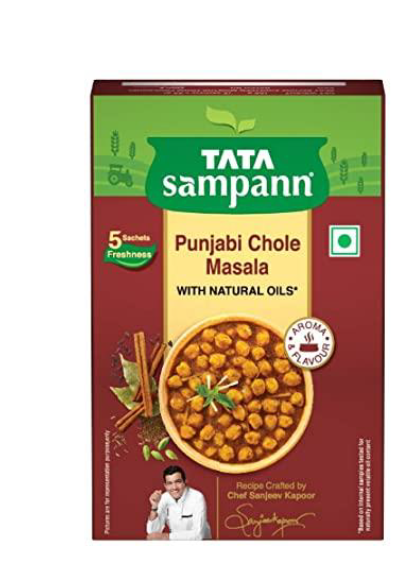 Tata Sampann Punjabi Chole Masala (With Natural Oils) - 100 g