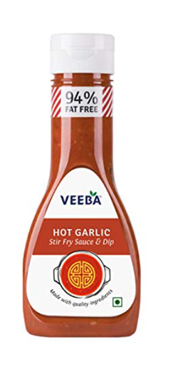 Veeba Hot Garlic Stir Fry Sauce & Dip 330 g