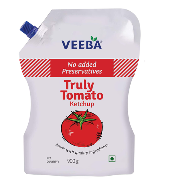 Veeba Truly Tomato Ketchup 900 g