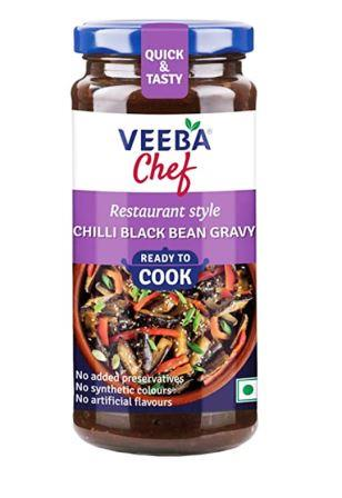 Veeba Chef Ready to Cook  - Chilli Black Bean Gravy 260 g