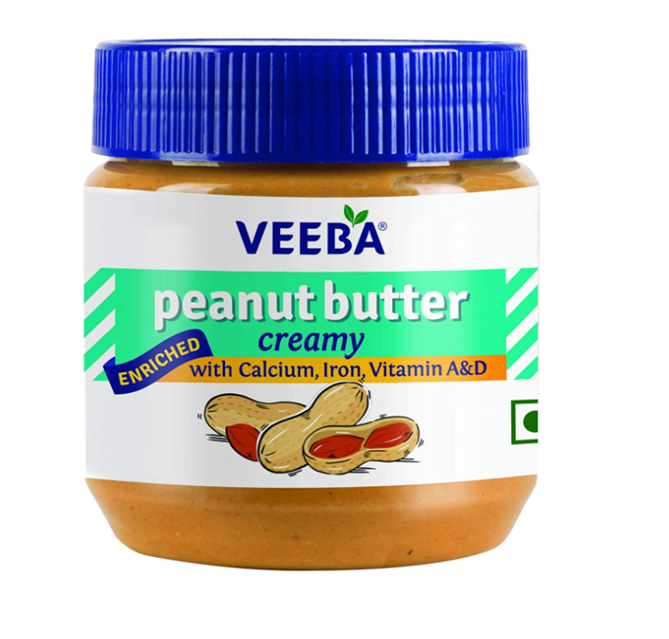 Veeba Peanut Butter - Creamy 340 g