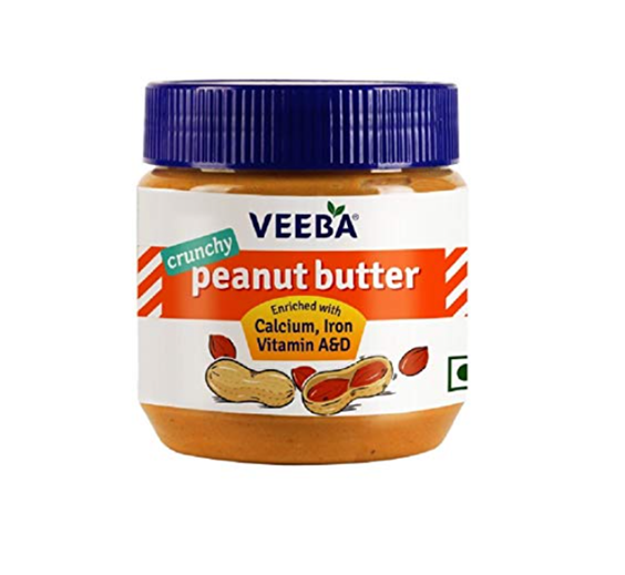 Veeba Peanut Butter - Crunchy 340 g