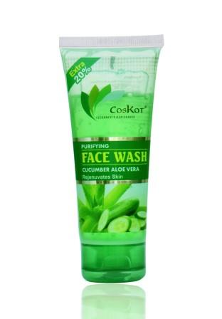 Coskot Coskot Purifying Face Wash (Cucumber Aloe Vera) 72  ml