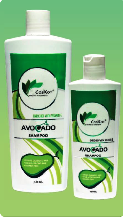 Coskot Avocado Shampoo 480 ml